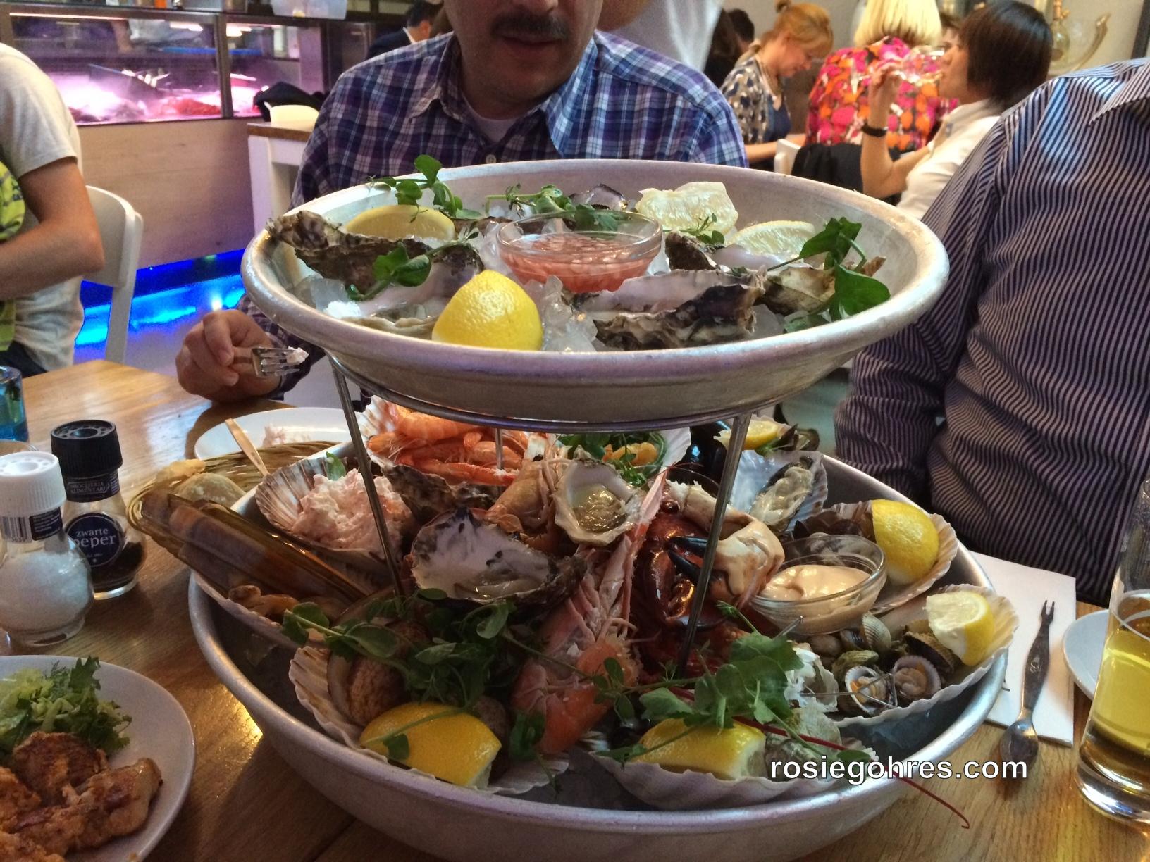 The Seafood Bar : Best Seafood Restaurant in Amsterdam - Rosie Gohres: www.rosiegohres.com/seafood-bar.htm